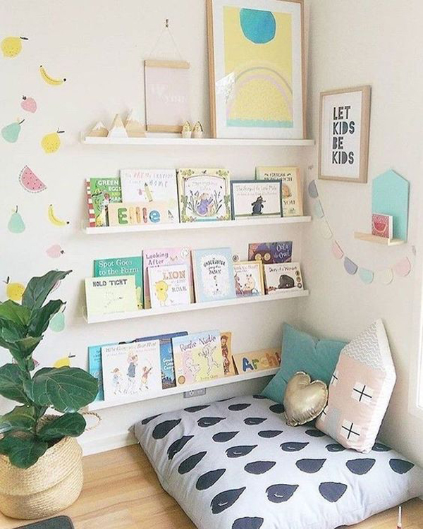 cute-kids-reading-nooks-with-bookcase-storage